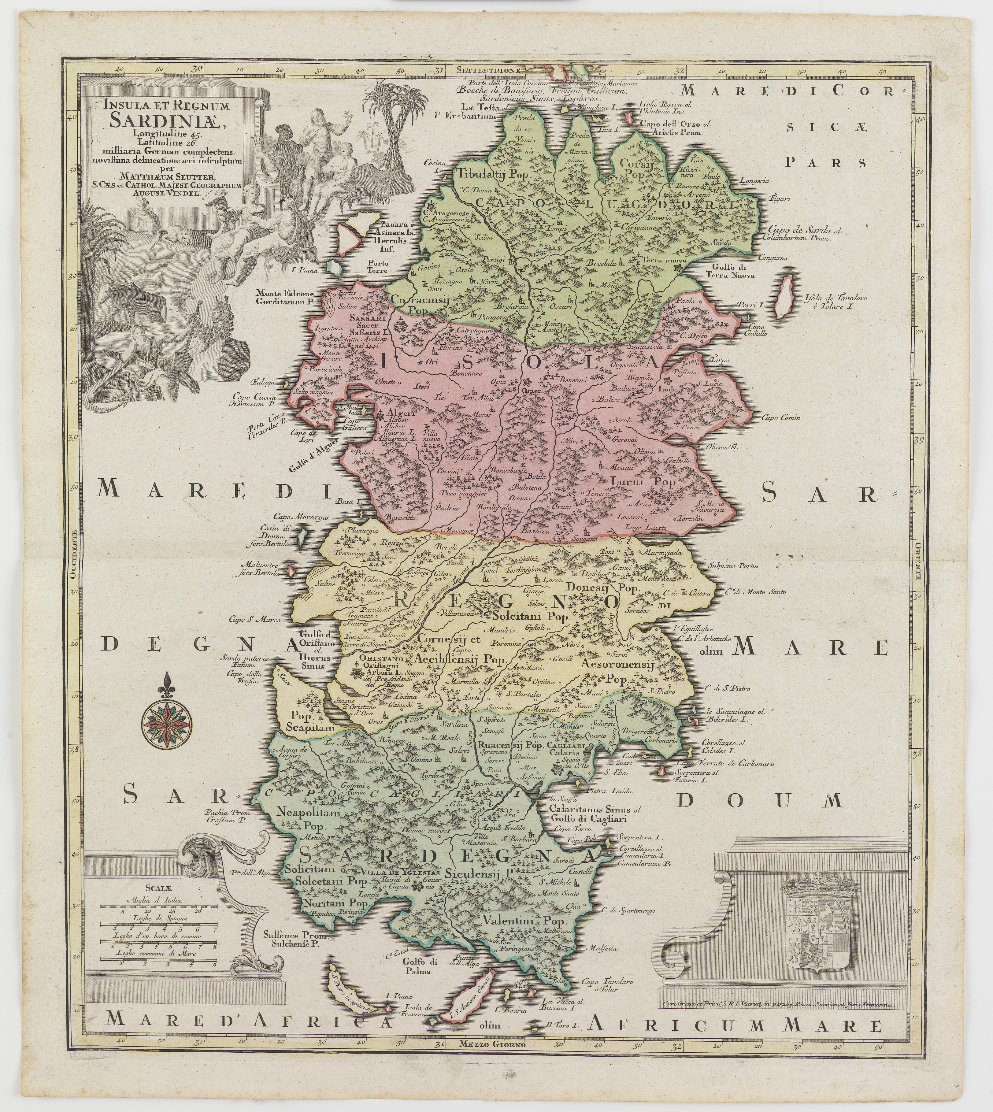 Immagini Della Cartina Geografica Della Sardegna.Fondazione Di Sardegna